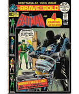 The Brave and the Bold Comic Book #100, DC Batman and 4 Stars 1972 VFN/N... - $72.48
