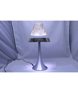 The Amazing Floating/Levitating Lamp - Floral Pattern Base and Shade -New in Box - $89.00
