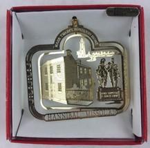 Nations Treasures Hannibal Mark Twain 24K Flashed Brass Metal Ornament Souvenir - $9.90