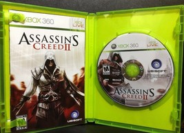 Assassin's Creed II (Microsoft Xbox 360, 2009) Rated M Ubisoft COMPLETE - $3.55
