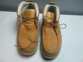 Timberland Leather Boots Size 12 Men Brown Tan - $33.75