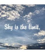 Art Print: Sky is the limit. - $5.00