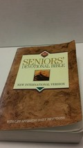 Senior's Devotional Bible NIV Paperback Zondervan 1995 - $14.50