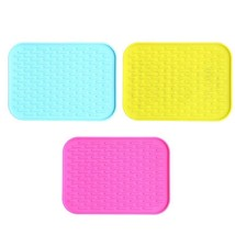Table Heat Resistant Pot Mat Holder Silicone Kitchen Trivet Pad Tool Non... - $5.99
