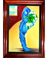 Noel Suarez-Still Life with Callas III-Framed LE Mix-Media Giclee/Canvas... - $850.25