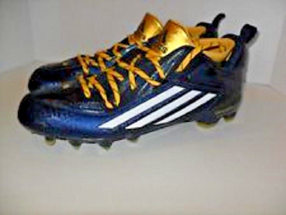 ee1c08f9913 Adidas Crazyquick 2.0 Football Cleats Men s 17 Techfit QUICKFRAME Navy NEW  W TAG