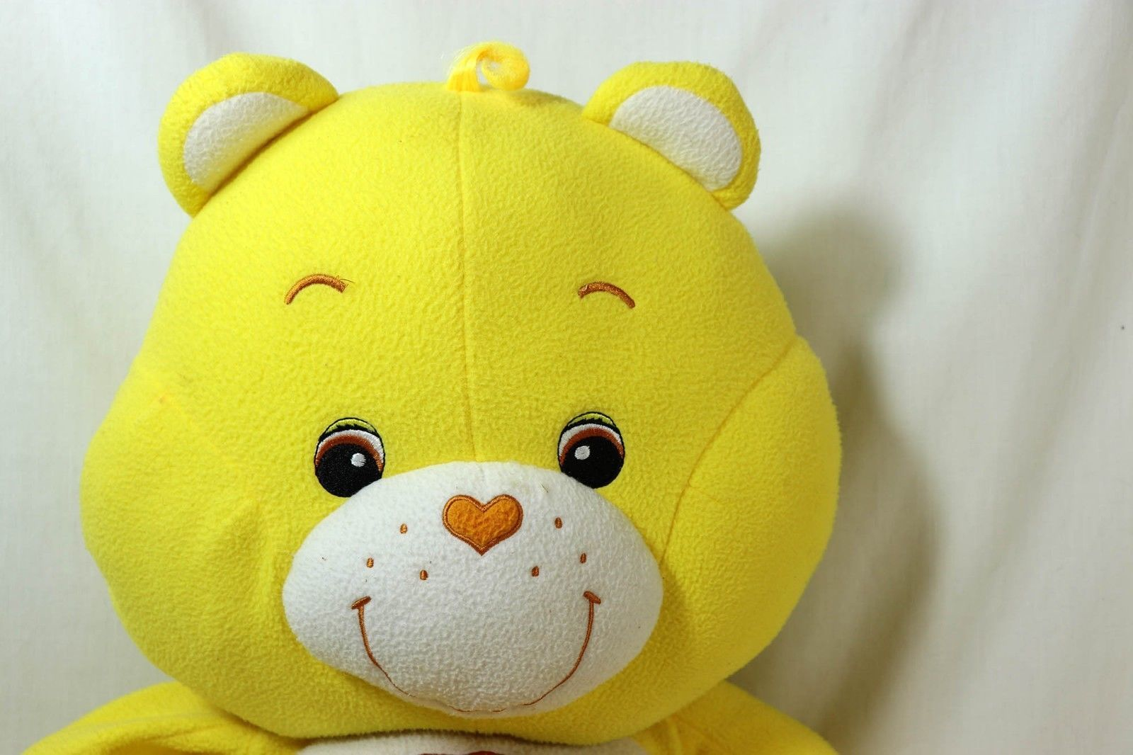 "Care Bears 26"" FunShine Sunshine Yellow Stuffed Plush Large Bear by Baby Boom"