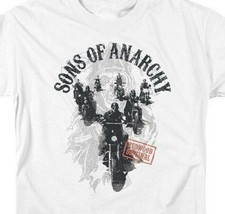 Sons of Anarchy Redwood Original TV series adult graphic t-shirt SOA125 image 2