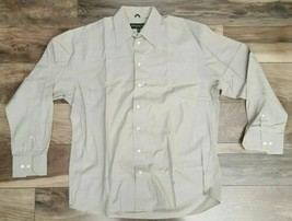 Kenneth Cole New York Gray Men's Button Up Slim Fit Dress Shirt Size 16 ... - $23.64