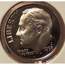 1995-S DCAM Proof Roosevelt Dime PF65 #831 - $7.99