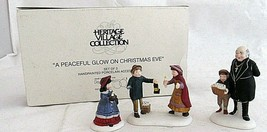 Heritage Village Accessories Dept 56 Peaceful Glow Christmas Eve Set 3 V... - $19.79