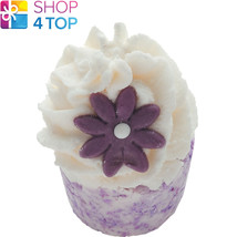 Violet Nights Bath Mallow Bomb Cosmetics Violet Jasmine Handmade Natural New - $4.98