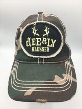 deerly blessed Adjustable hat Camouflage - $13.09