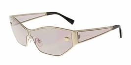 Versace Woman's Sunglasses VE2205  1252/5 67 Pale Gold / Pink Lens - $405.90