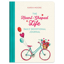 The Heart-Shaped Life Daily Devotional Journal by Karen Moore Paperback ... - $24.99