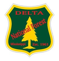 Delta National Forest Sticker R3226 Mississippi - $1.45+