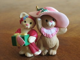 "1996 Hallmark ""Sister to Sister"" Keepsake Christmas Ornament Teddy Bear ... - $3.99"