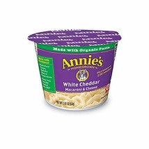 Annie's White Cheddar Microwavable Macaroni & Cheese, 2.01 Oz, Pack of 12