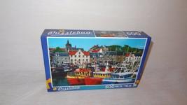 New 500 Piece Puzzle Puzzlebug Fishing Boats, Pittenweem, Fife Scotland ... - $21.23