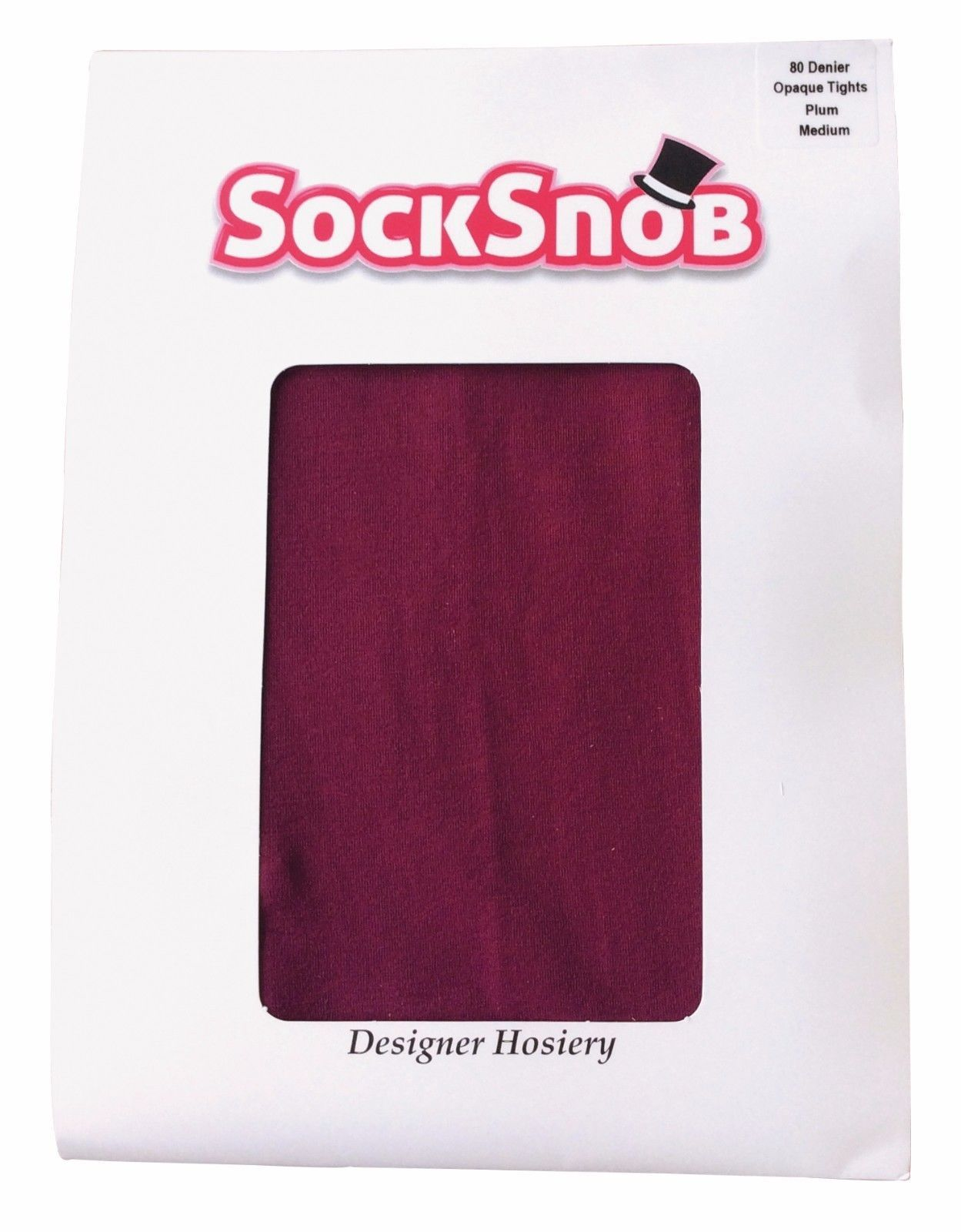 Sock Snob - Womens Ladies 80 Denier Thick Opaque Colourful Matte Warm Tights