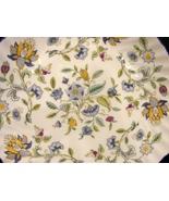 Minton Haddon Hall Blue Fine Bone Chin e handled CakePlate Pattern # S782 - $6.66
