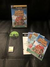 Animal Crossing (Nintendo GameCube 2002) Players Choice CIB Complete mem... - $39.89