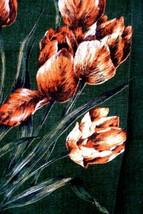 Vintage Kitchen Towel WEBBS IRISH LINEN Made in Ireland TULIPS - First C... - $17.82