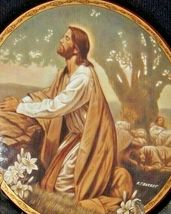 """""""The Passion in the Garden"""" AA20-CP3228 Vintage The Life of Christ image 3"""
