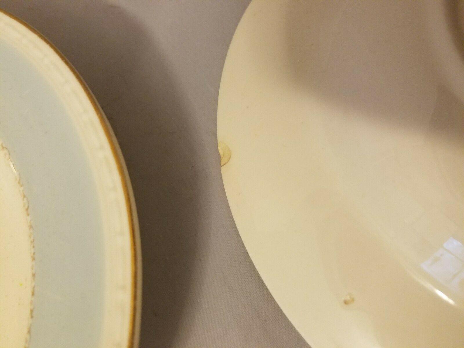 Homer Laughlin Soup Bowls Eggshell Georgian China Robin Egg Blue Set of 3 image 8