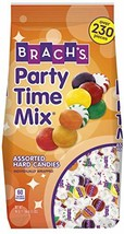 Brach's Party Time Assorted Hard Candy Mix, 3 Lb Bulk Bag Individually Wrapped - $25.55