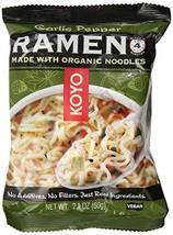 Koyo Ramen, Garlic Pepper, 2.1 Ounce Pack of 12