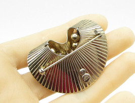 NAPIER 925 Sterling Silver - Vintage Art Deco Sphere Bouquet Brooch Pin - BP1144 - $88.65