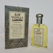Raw vanilla by coty 50ml/50 ml cologne spray for men - $167.50