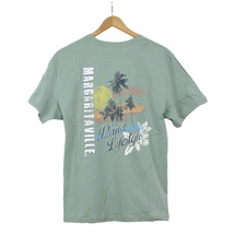 NWT Jimmy Buffett's Margaritaville Island LifeStyle Blue Cotton T-Shirt ... - $39.51 CAD