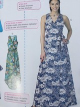 Mccalls Sewing Pattern 7406 Misses Dresses Belt Size 14-22 New - $17.46
