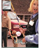 1998 GMC Truck SAFARI sales brochure catalog 98 US SLT SLE SLX - $6.00
