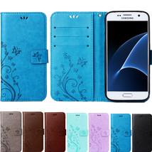 A3 A5 2017 J1 J3 J5 J7 2016 Core 2 Grand Prime Leather Flip Cover Wallet Case fo