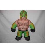 "Neat 2011 17"" WWE Wrestling Brawlin Buddies REY MX STERIO Talking Plush ... - $24.97"