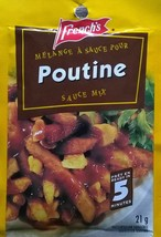50 French's Poutine Sauce Mix 21g Each From Canada FRESH & Delicious! - $60.82