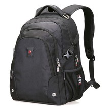 "BDF Original Swisswin Men Backpack Waterproof Black  Backpack 15"" Laptop... - $55.34"
