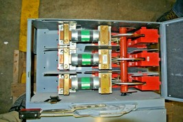 Square D Fusible Branch Switch 400 Amp 3-Pole 240VAC QMB-325W - $750.00