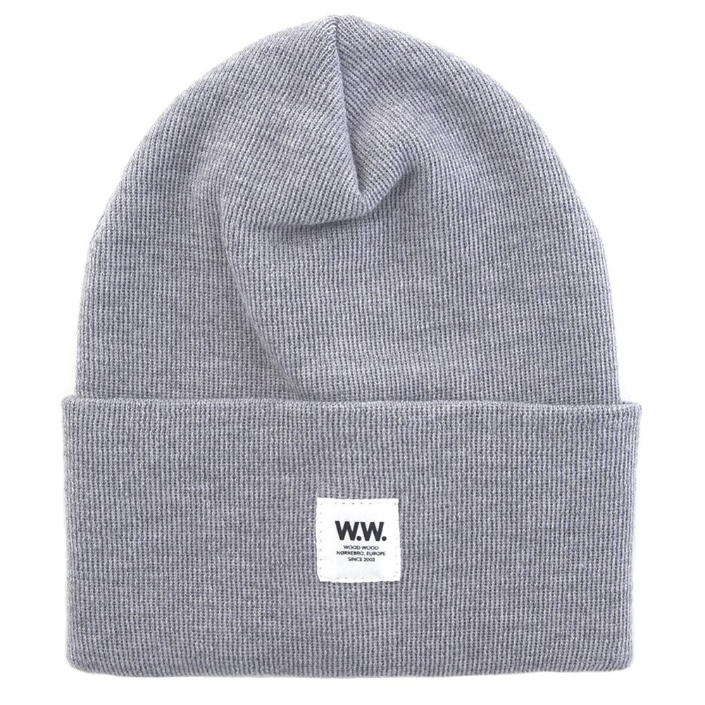Wood Wood Tall Wool Beanie 11530812-4061 (Grey Melange)