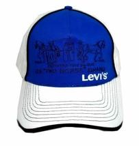 NEW LEVI'S RED TAB MEN'S PREMIUM CLASSIC COTTON BASEBALL HAT CAP BLUE ONE SIZE image 2