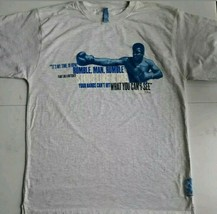 Fubu Platinum Mohammed Ali Graphic T-Shirt Size Large - $9.89