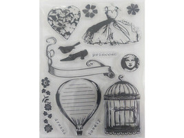 Romantic Princess Clear Stamp Set