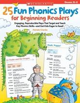 25 Fun Phonics Plays for Beginning Readers: Engaging, Reproducible Plays... - $19.15