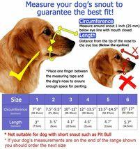 Barkless Soft Basket Silicone Dog Muzzle, Black, Size 2 image 3
