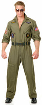 WING MAN AIR FORCE ADULT HALLOWEEN COSTUME MEN'S PLUS SIZE 1X - $67.79