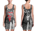 Huey lewis   the news women sexy  bodycon fit dress thumb155 crop