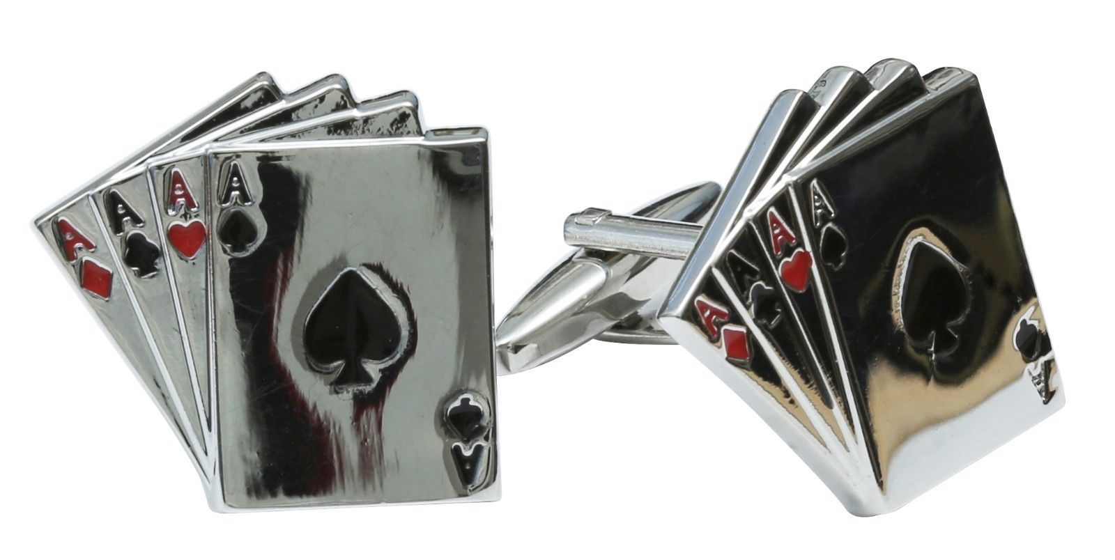 Rockabilly Retro Cufflinks Bombs Anchors Luck Aces Skull Guitar Route 66 Wrench